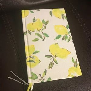 Kate Spade Lemon Journal Notebook 300 Lined Pages